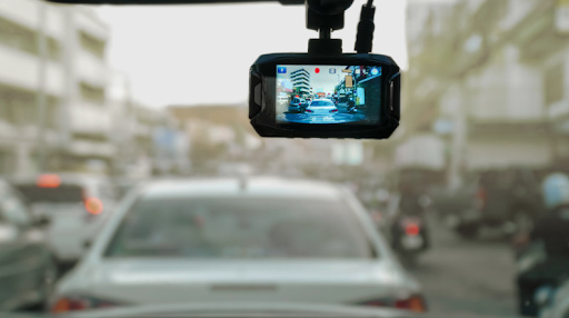 dashcam en plastique